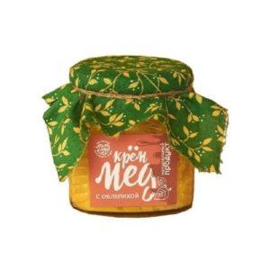 Крем-мёд с облепихой, 300 г (Мастерская добро)