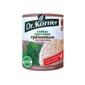 Хлебцы гречневые с витаминами, 100 г (Dr.Korner)