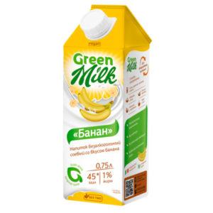 Напиток соевый с бананом, 750 мл (Green Milk)