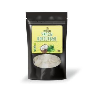 Кокосовые чипсы, 100 г (BonCocos)