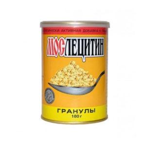 Лецитин соевый гранулированный, 180 г (Мослецитин)