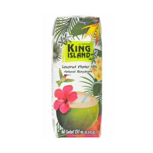 Кокосовая вода без сахара, 250 мл (King Island)