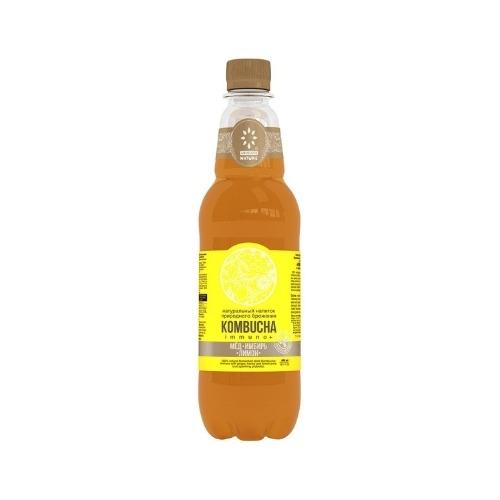 Комбуча Мёд, имбирь, лимон, 500 мл (Absolute Nature)