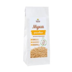 Мука рисовая цельнозерновая, 500 г (Житница здоровья)