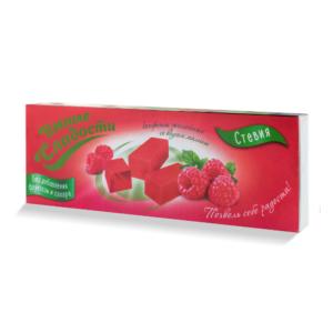 Конфеты желейные Малина, 90 г (Умные сладости)