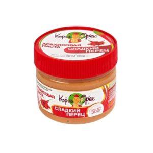 Арахисовая паста Сладкий перец, 300 г (Король Орех)