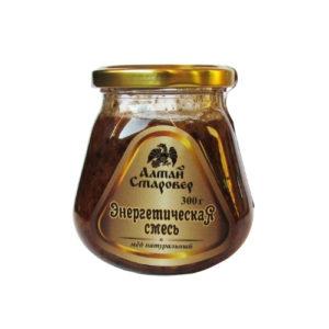Мёд таёжный Энергетическая смесь, 300 г (Старовер)