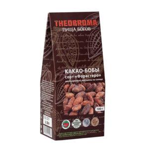 Какао-бобы ферментированные, 100 г (Пища Богов)