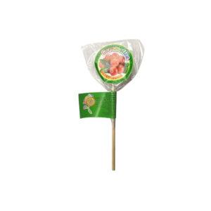 Карамель без сахара Полезнушка брусника, 7 г (Caramelica)