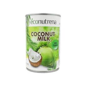Молоко кокосовое, 400 мл (Econutrena)
