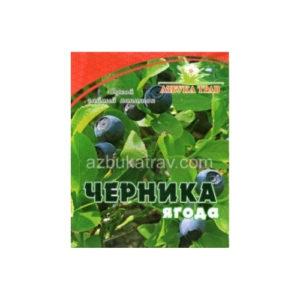 Черника молотая (ягоды), 50 г (Азбука трав)