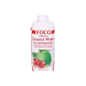 Кокосовая вода с соком граната, 330 мл (Foco)