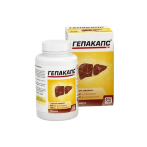 Гепакапс для печени, 30 капс*1580 мг (Real Caps)