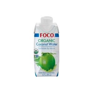Кокосовая вода Organic, 330 мл (Foco)