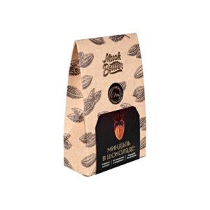 Миндаль в натуральном шоколаде, 75 г (Much Better)