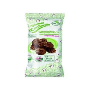 Печенье песочное без глютена с какао, 210 г (Умные сладости)