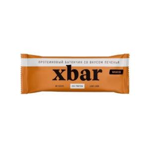 Батончик протеиновый Xbar Печенье, 60 г (Vasco)
