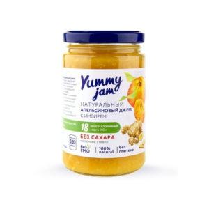 Джем низкокалорийный апельсиновый, 350 г (Yummy Jam)