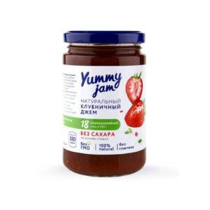 Джем низкокалорийный клубничный, 350 г (Yummy Jam)