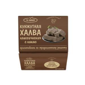 Халва кунжутная с какао, 290 г (Сокровища Сезама)