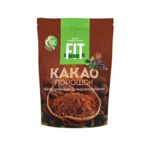 Какао-порошок обезжиренный, 150 г (Fit Parad)