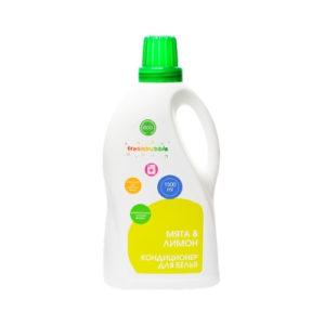 Кондиционер для белья Мята и лимон, 1500 мл (Freshbubble)