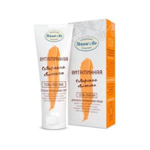 Гель-маска для всех типов кожи Витаминная, 75 мл (Нежный лён)