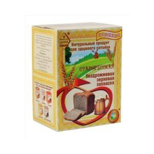 Закваска зерновая бездрожжевая, 360 г (СибТар)