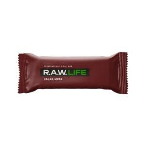 Батончик орехово-фруктовый Какао-мята, 47 г (R.A.W. Life)