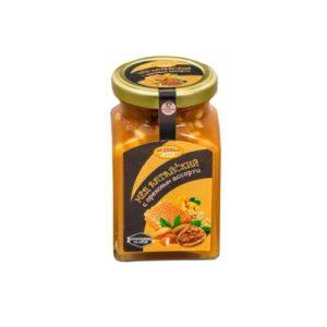 Мёд алтайский с ореховым ассорти, 320 г (Медовый край)