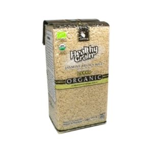 Рис коричневый органический, 1 кг (Sawat-D)