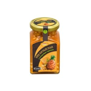Мёд алтайский с кедровым орехом, 320 г (Медовый край)