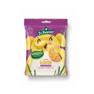 Чипсы рисовые с бананом, 30 г (Jr. Korner)