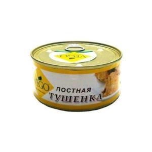 Тушёнка с луком постная ж/б, 300 г (Vego)