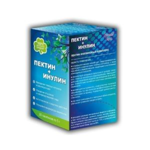 Пектин+Инулин пищевой, 20 пак*5г (Полинка)