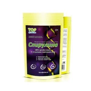 Спирулина органик порошок, 100 г (Top Spirulina)