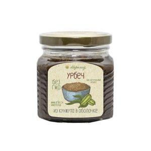 Урбеч из кунжута коричневого (в оболочке), 230 г (Мералад)