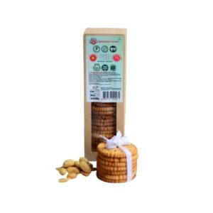 Печенье на сиропе топинамбура с арахисом, 200 г (Здоровье нации)