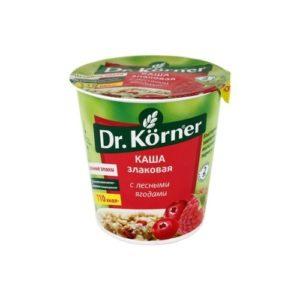 Каша злаковая с лесными ягодами, 40 г (Dr. Korner)