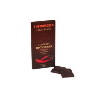 Шоколад горький с кайенским перцем, 72 г (Пища богов)