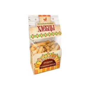 Хлебцы цельнозерновые с топинамбуром и отрубями, 220 г (Дивинка)