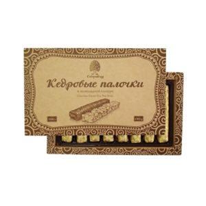 Конфеты Кедровые палочки, 190 г (Сибирский кедр)