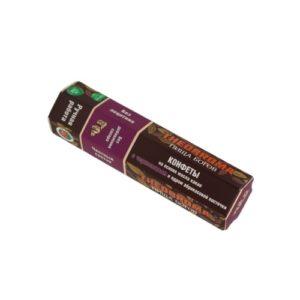 Конфеты шоколадные Чернослив с ядром абрикосовой косточки, 60 г (Пища Богов)