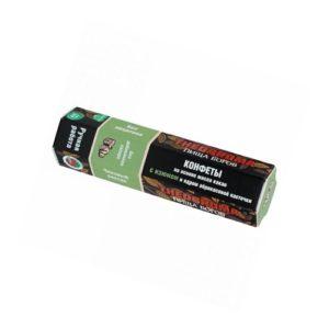 Конфеты шоколадные Изюм с ядром абрикосовой косточки, 60 г (Пища Богов)