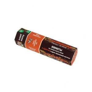Конфеты шоколадные Курага с ядром абрикосовой косточки, 60 г (Пища Богов)