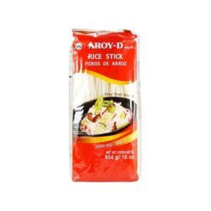 Лапша рисовая 3 мм, 454 г (Aroy-D)