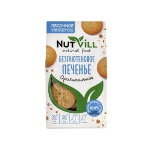 Печенье песочное без глютена Оригинальное, 100 г (Nutvill)