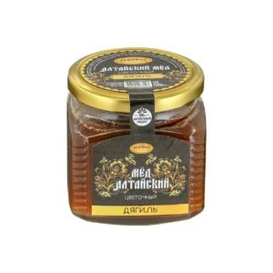 Мёд алтайский Дягиль, 500 г (Медовый край)