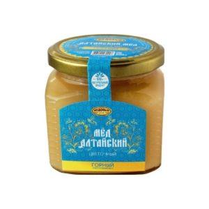 Мёд алтайский Горный, 500 г (Медовый край)