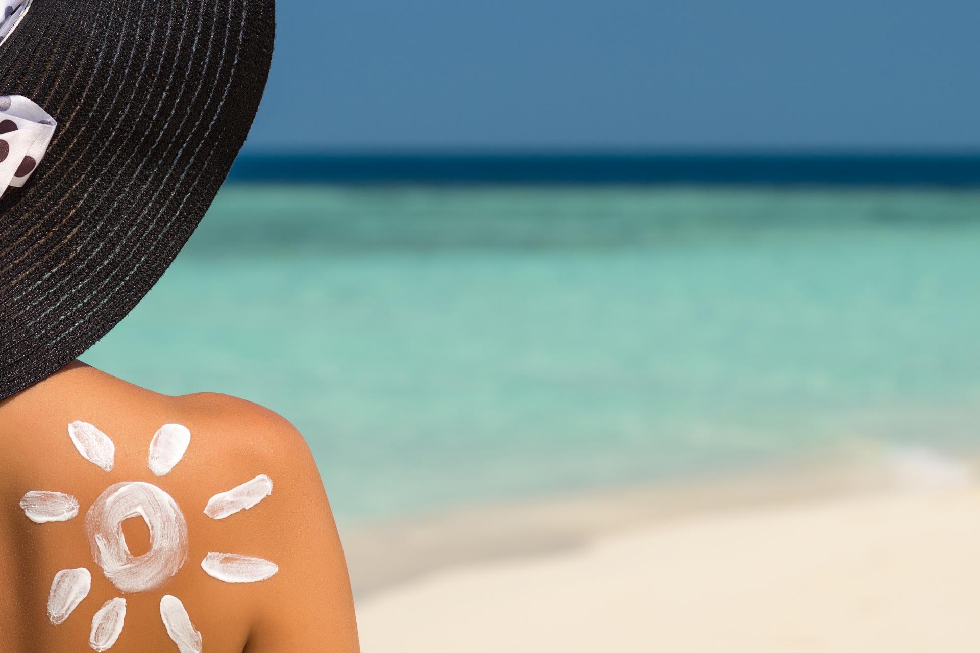 Защита кожи в солнечный день